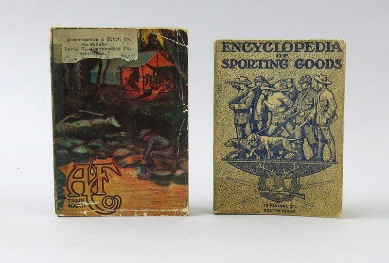 Two Early Twentieth Century Sporting Catalogs