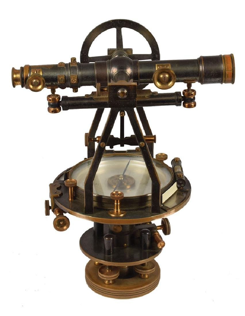 Antique Theodolite by W. & L. E. Gurley