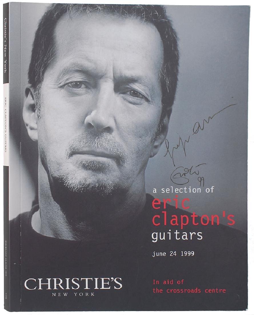 Eric Clapton and Giorgio Armani