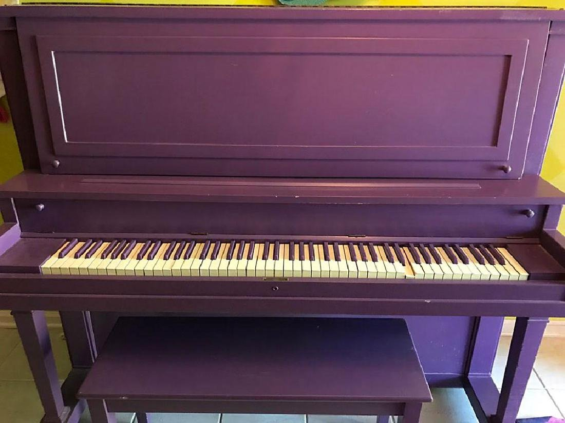 Prince's Personally-Played Piano