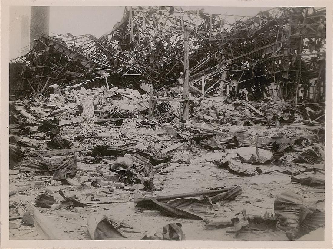 Nagasaki Original Photograph of Debris by Yosuke Yamahata
