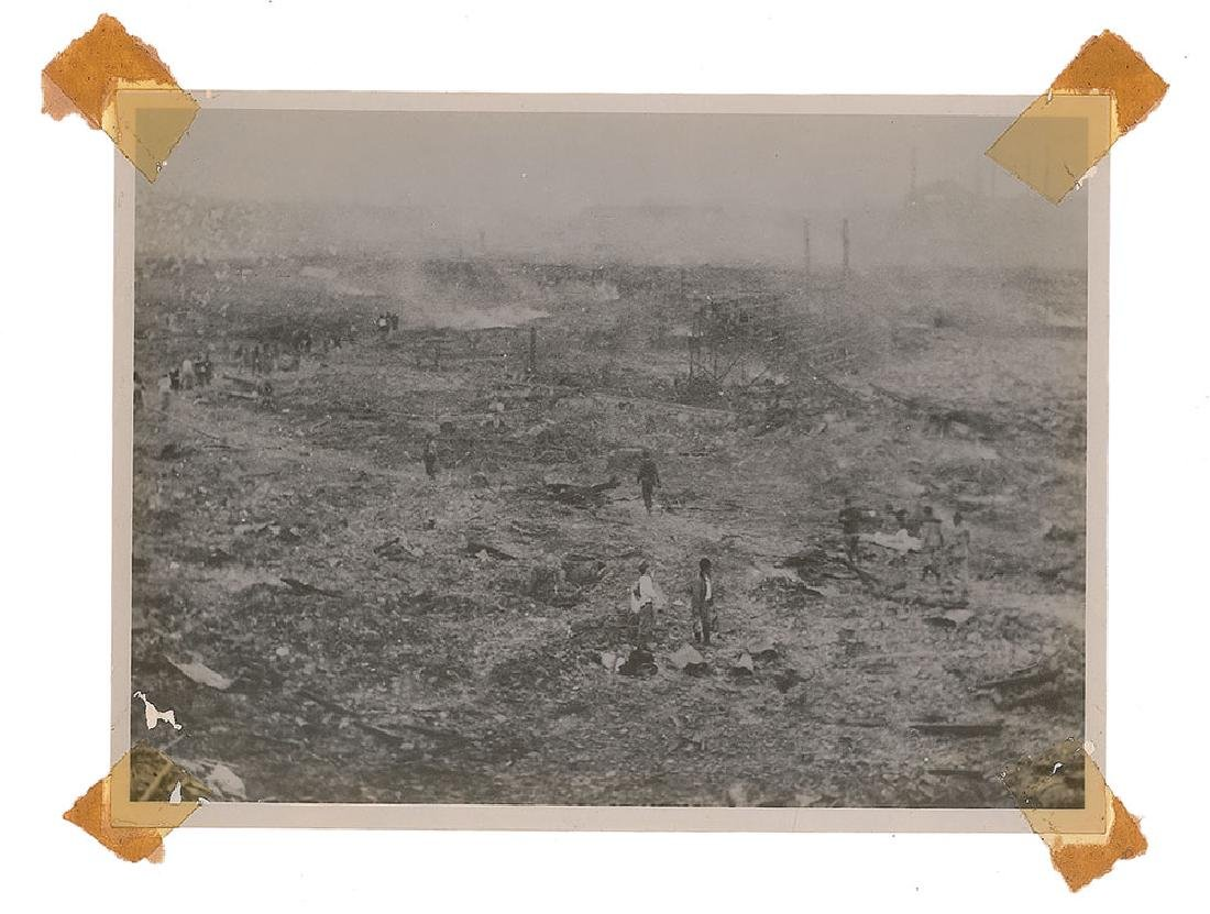 Nagasaki Original Photograph of Rubble by Yosuke Yamahata