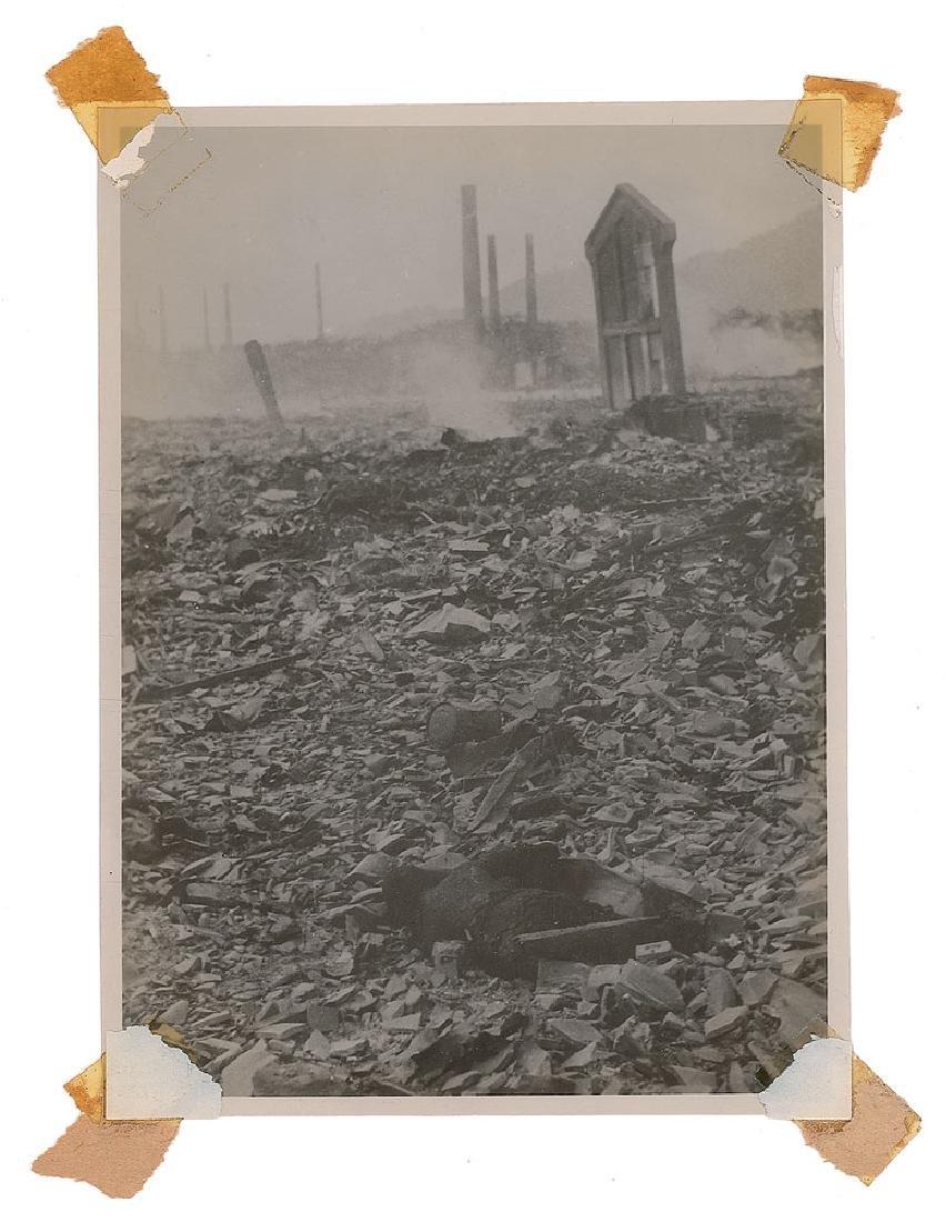 Nagasaki Original Photograph of Ruins by Yosuke Yamahata
