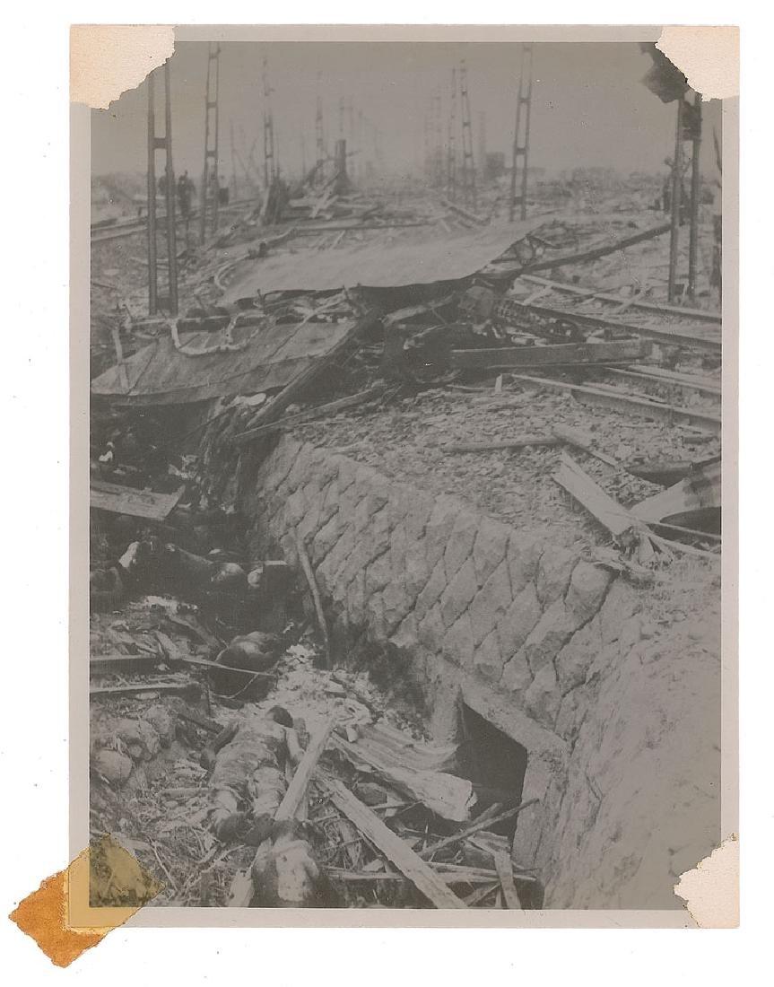 Nagasaki Original Photograph of Devastation by Yosuke Yamahata