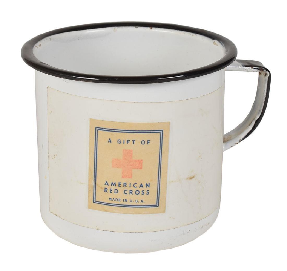 World War II Red Cross Mug