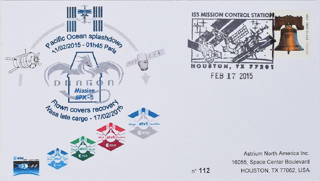 ISS Flown Cover