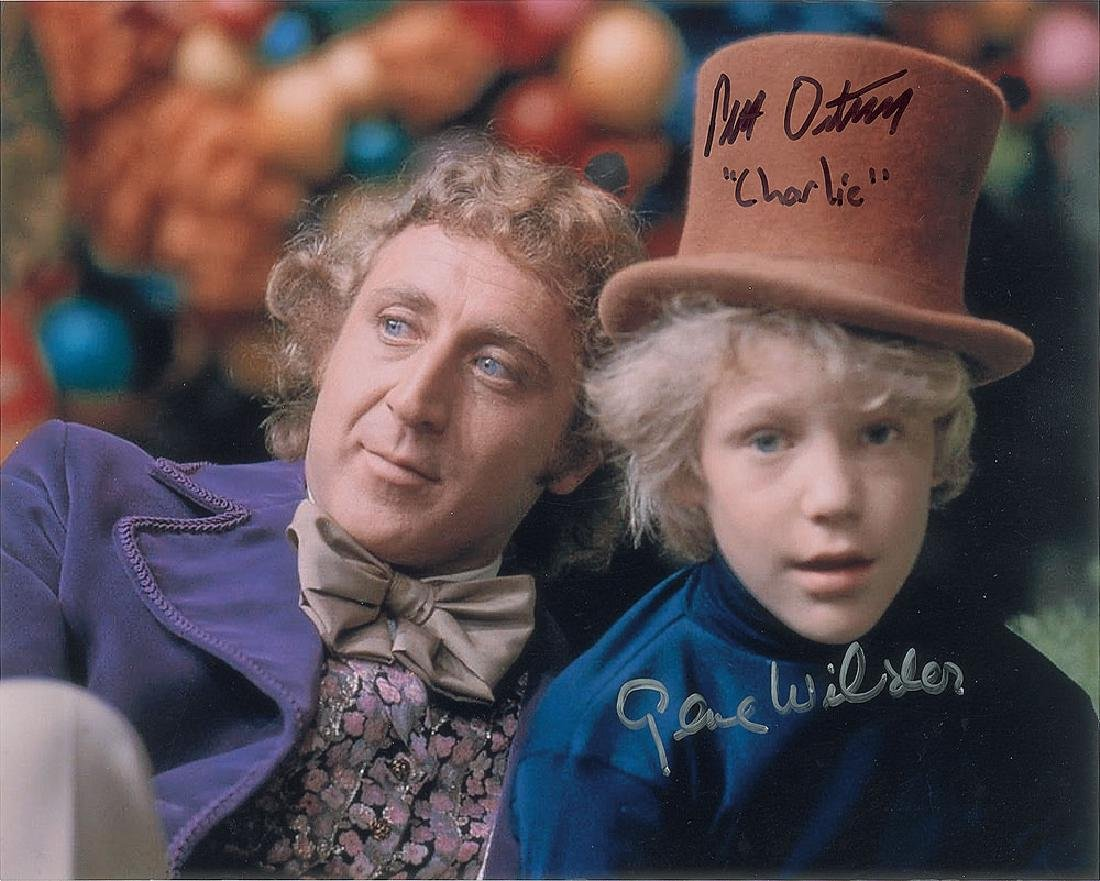 Gene Wilder and Peter Ostrum