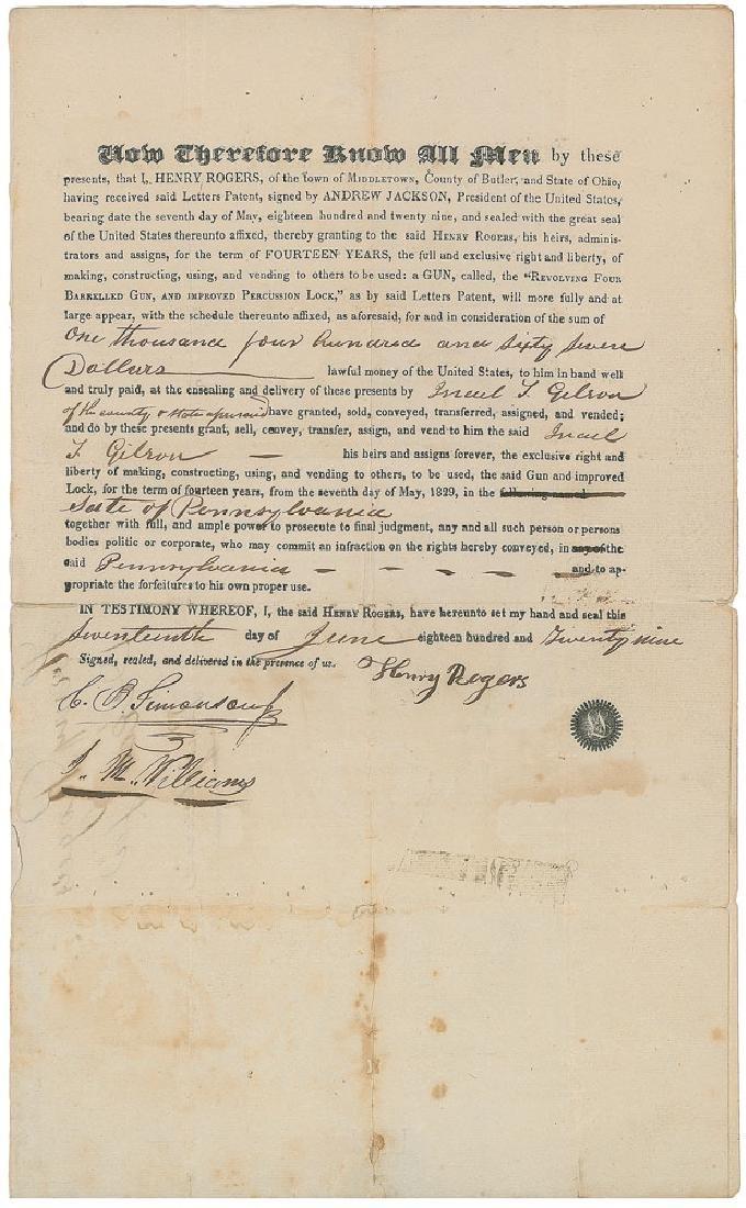 Revolving Pistol Patent