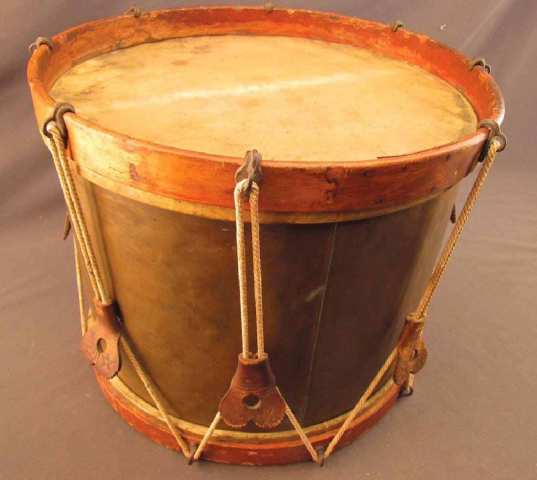 Civil War Brass Shell Non-Regulation Snare Drum