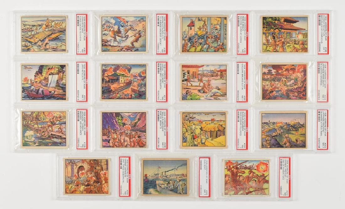 1938 Gum Inc. 'Horrors of War' Card Collection