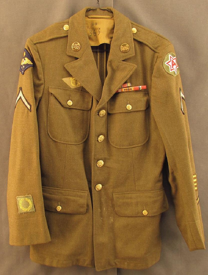 WWII US Army Enlisted Man's Service Jacket