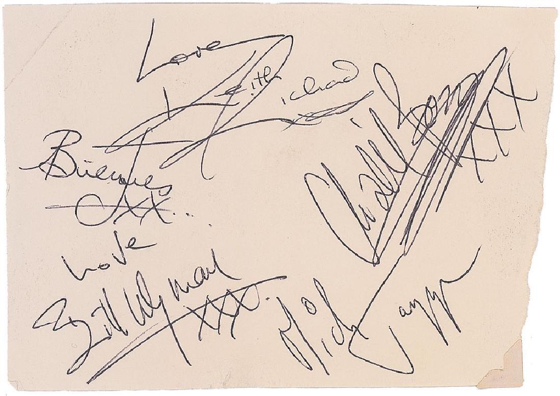 Rolling Stones Signatures