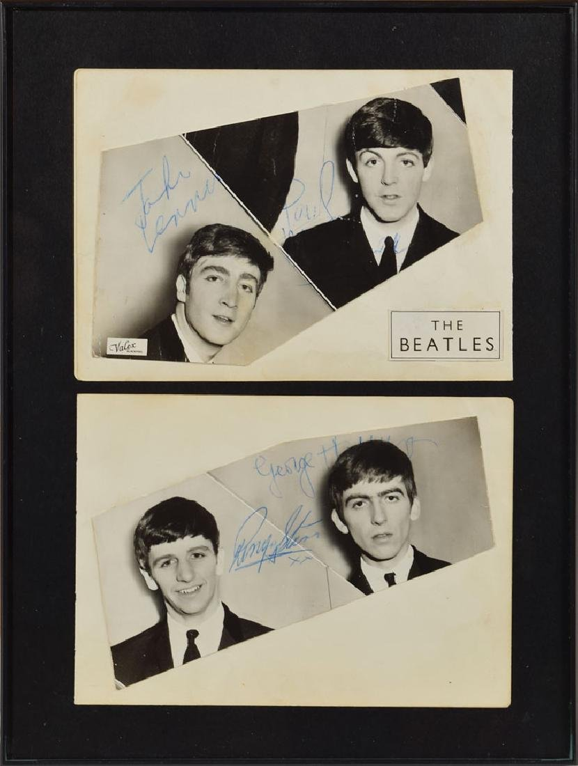 Beatles Signed Photographs
