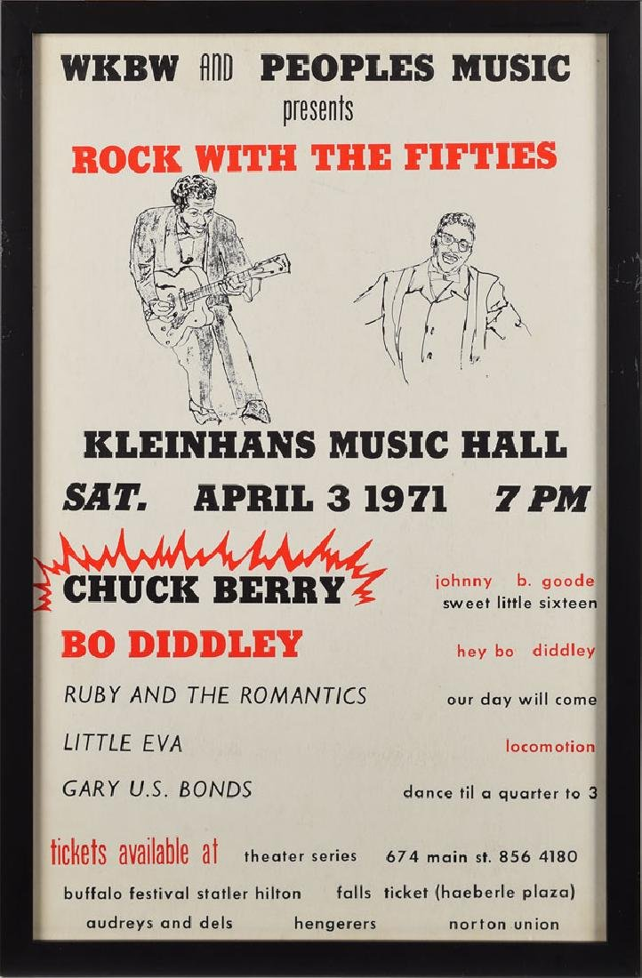 Rock with the Fifties Concert Poster
