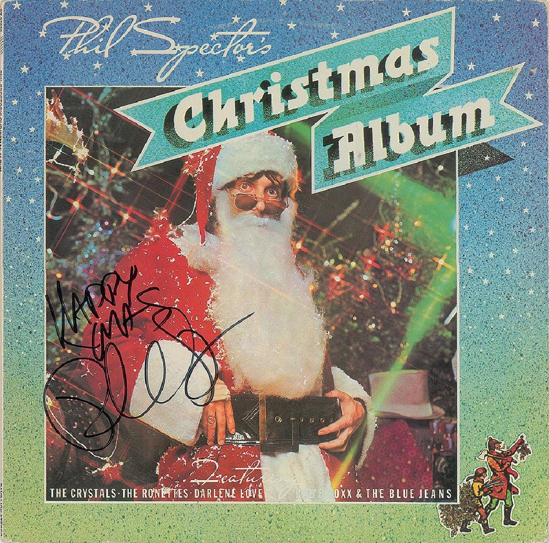 Phil Spector Signed Album