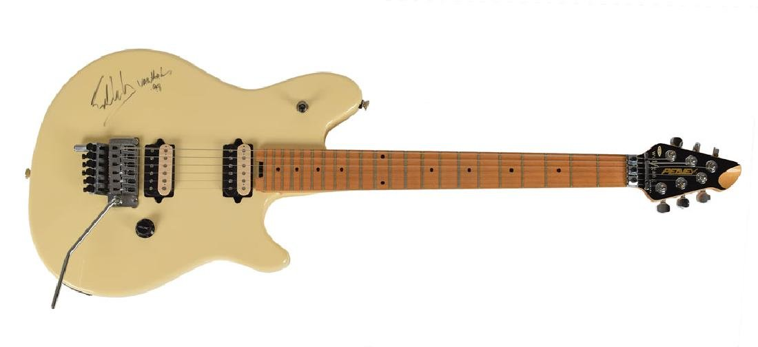 Eddie Van Halen Signed Guitar