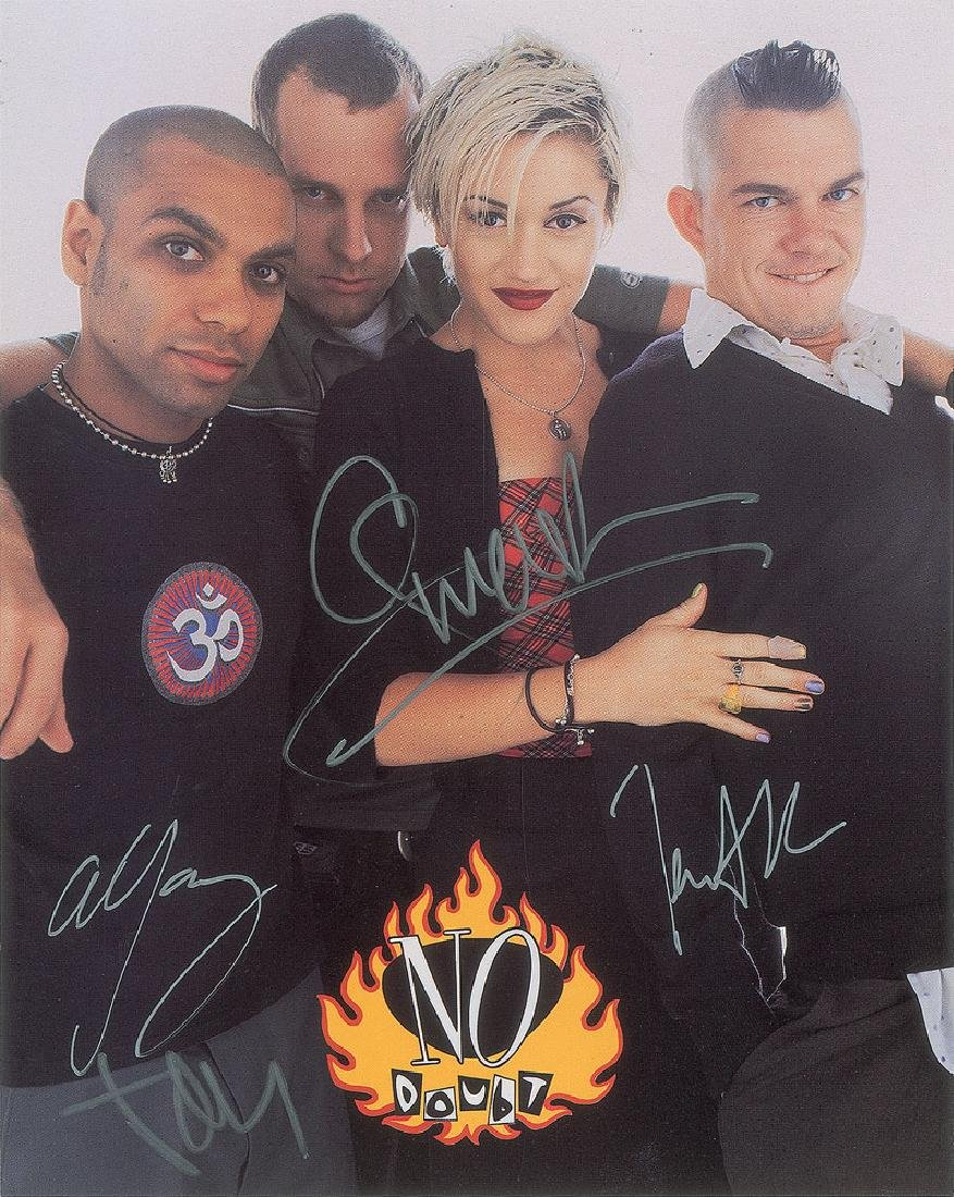 No Doubt Signed Photograph