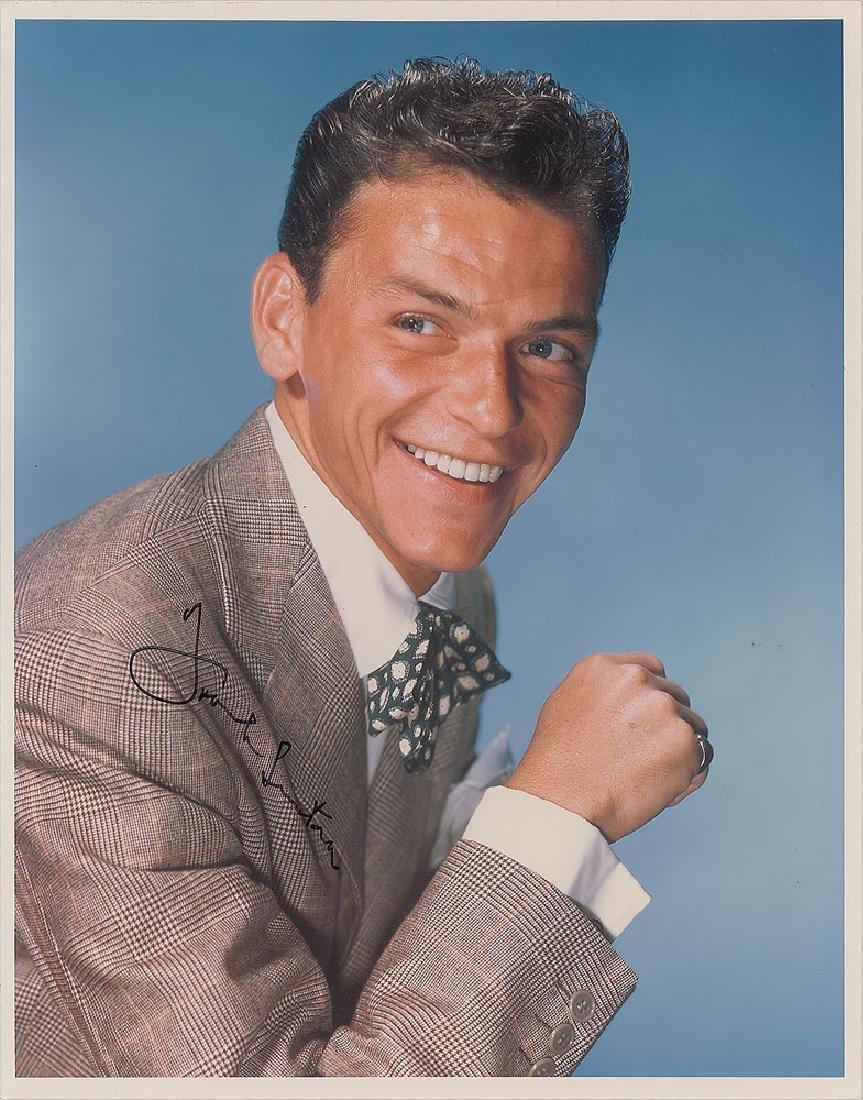 Frank Sinatra Signed Photograph