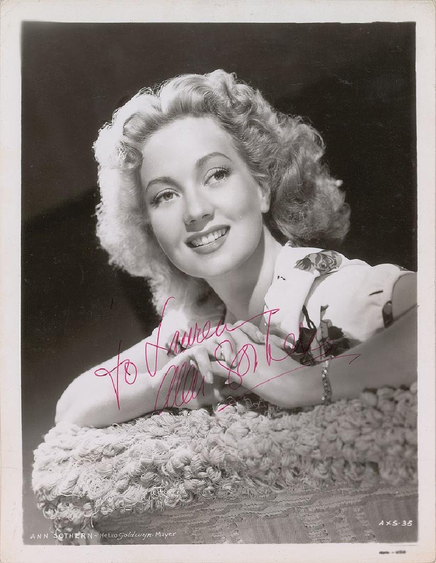 Ann Sothern Signed Photograph