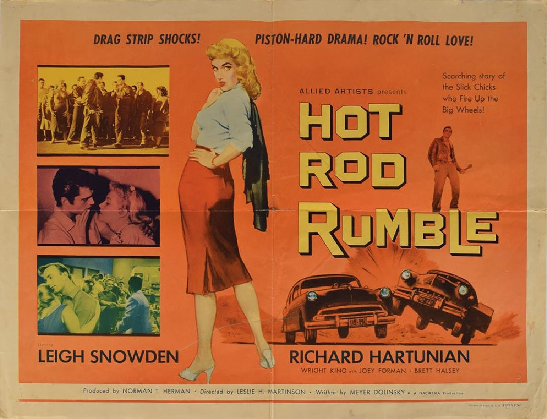 Hot Rod Rumble Poster