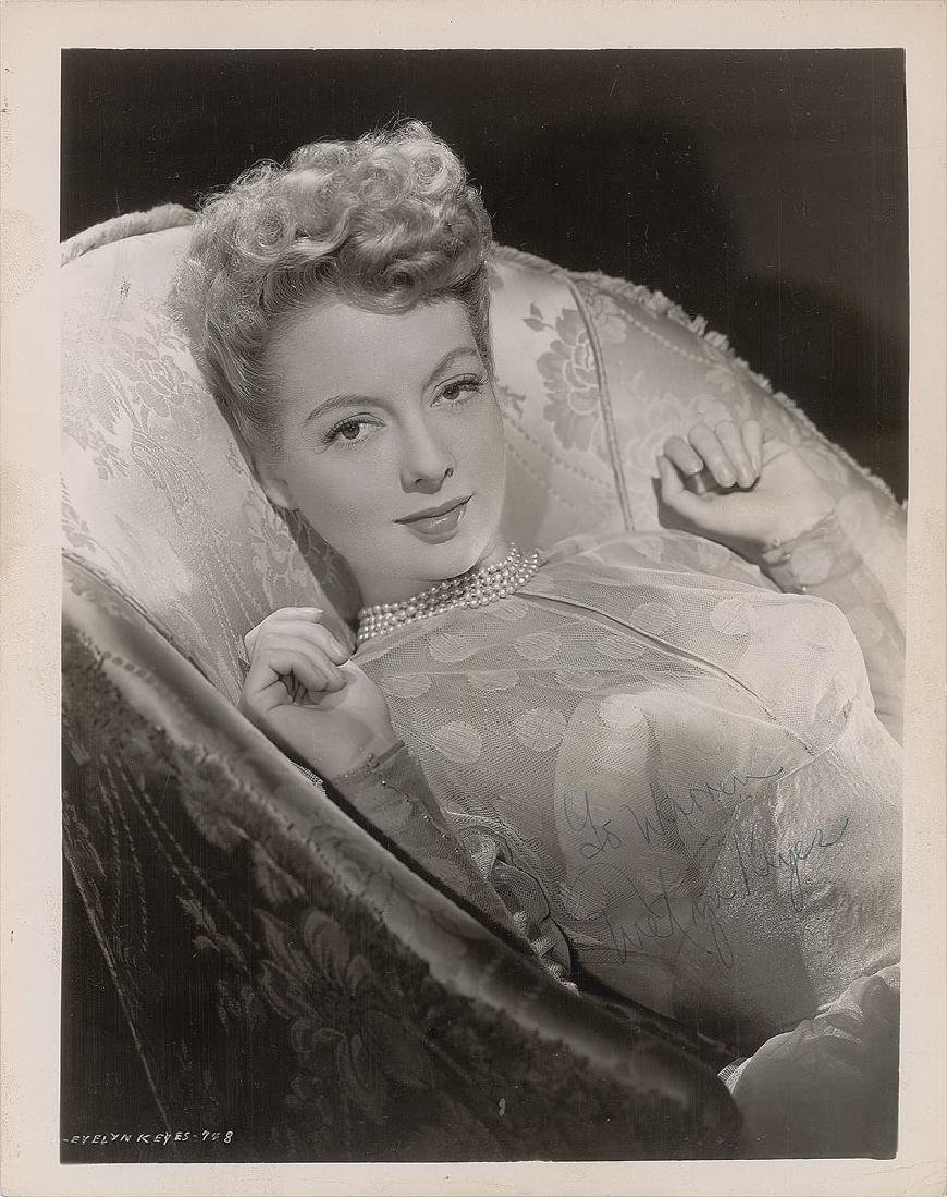 Evelyn Keyes Signed Photograph