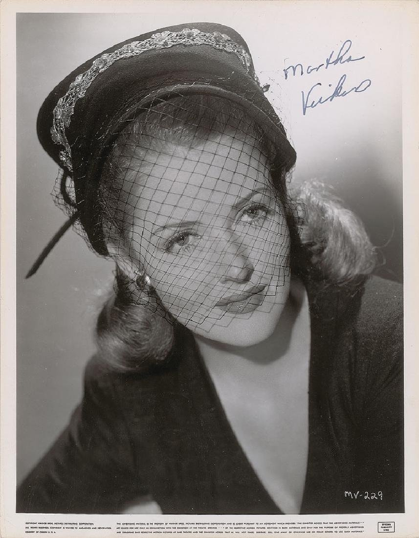 Martha Vickers Signed Photograph
