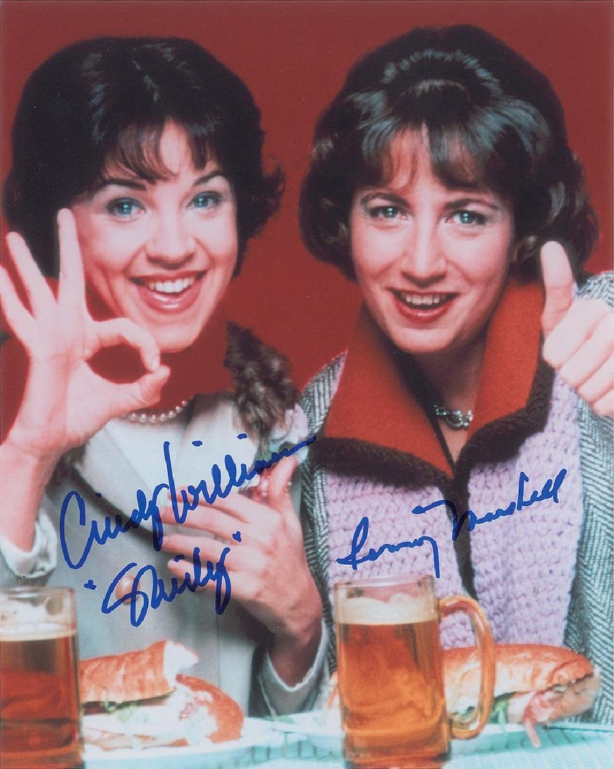 Laverne and Shirley Signed Photograph