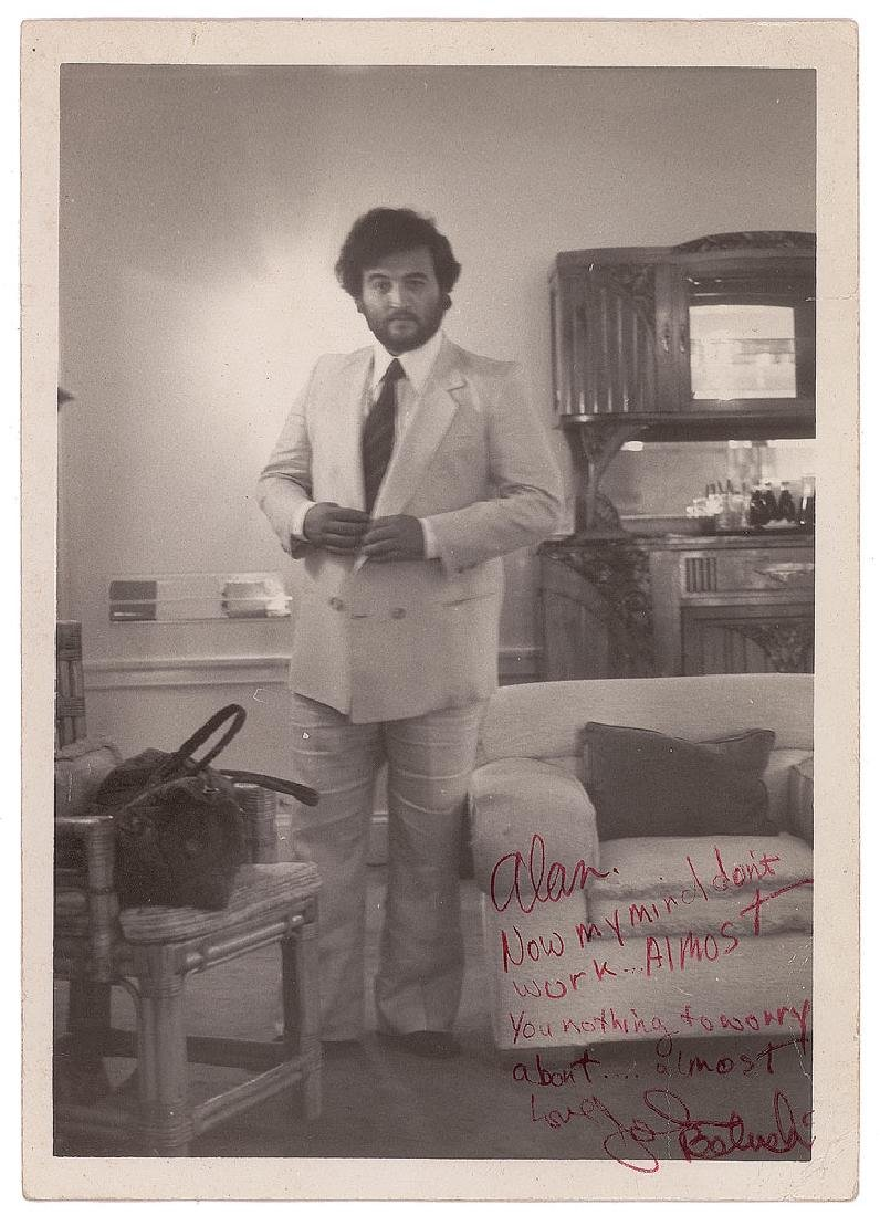 John Belushi Signed Photograph