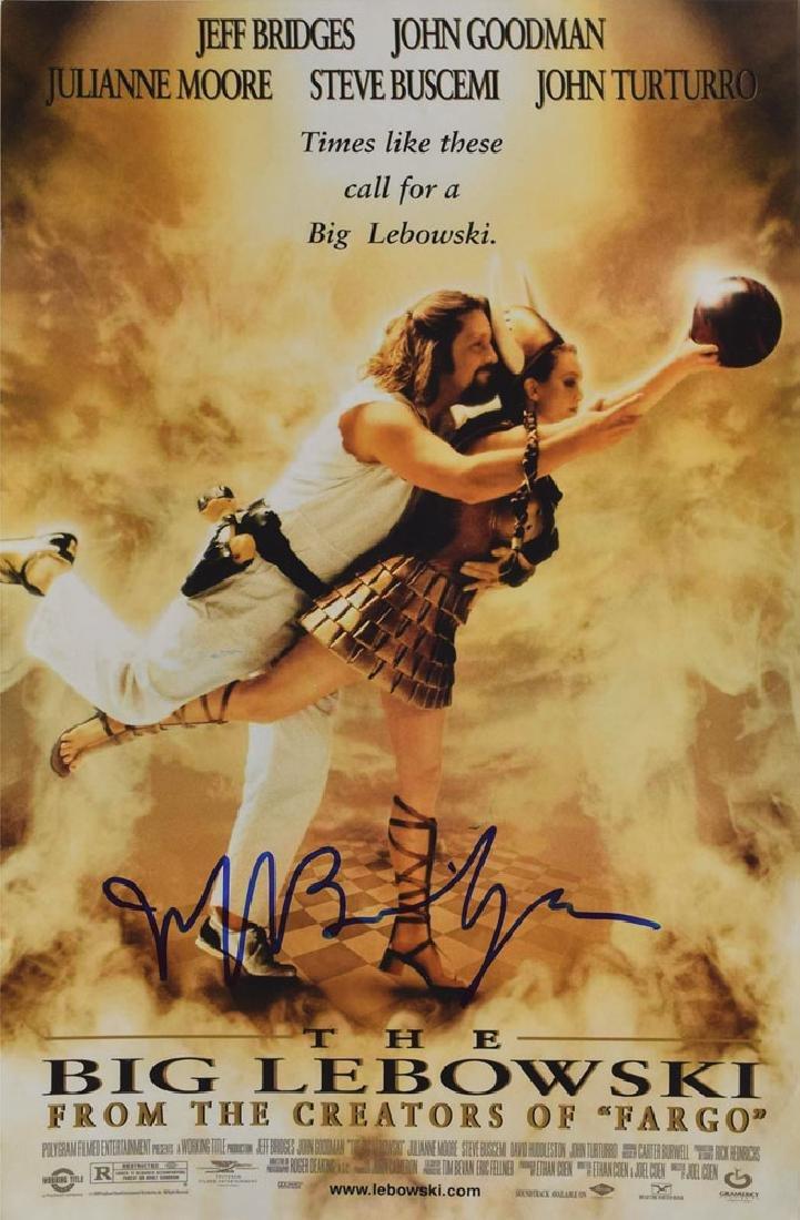 Jeff Bridges Signed Photograph
