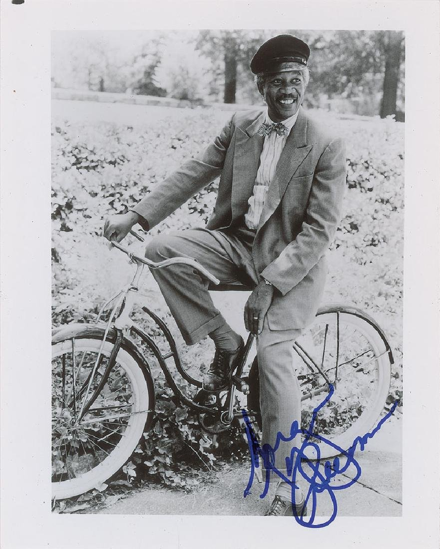 Morgan Freeman Signed Photograph