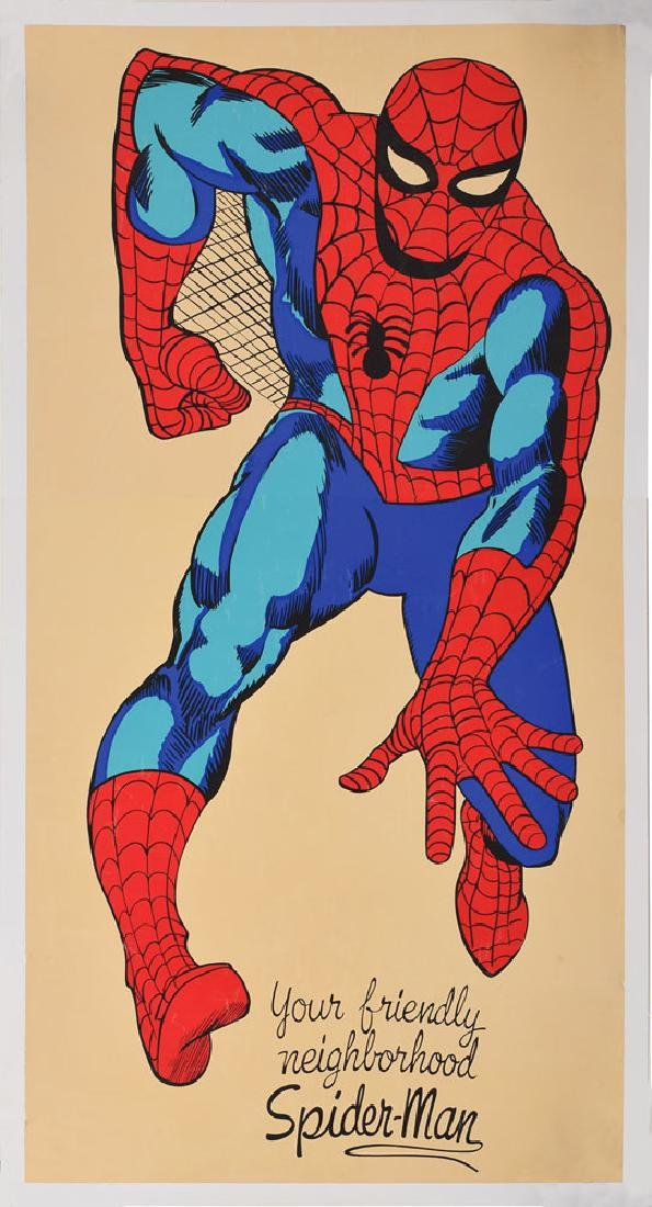 Spider-Man Original Comic Promo Poster