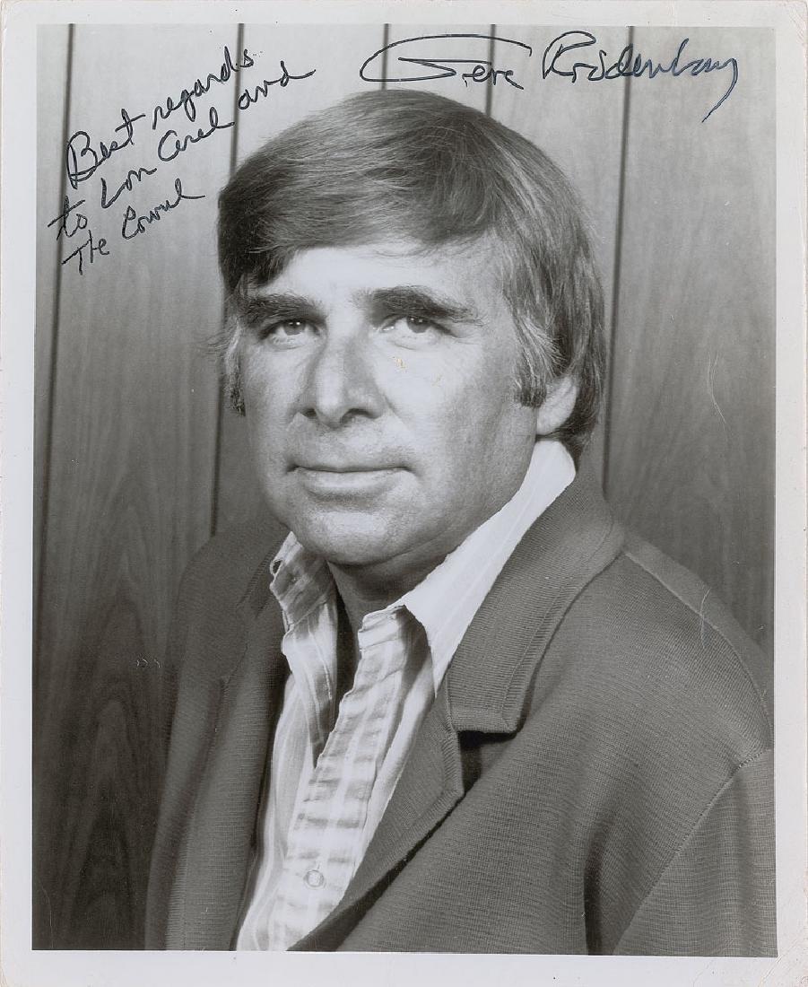 Gene Roddenberry Signed Photograph