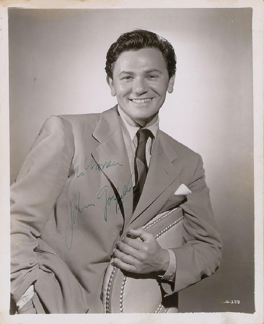 John Garfield Signed Photograph