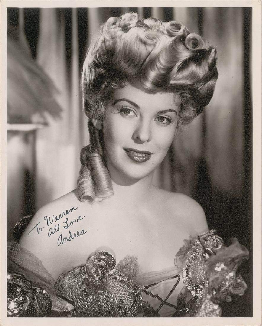 Andrea King Signed Photograph