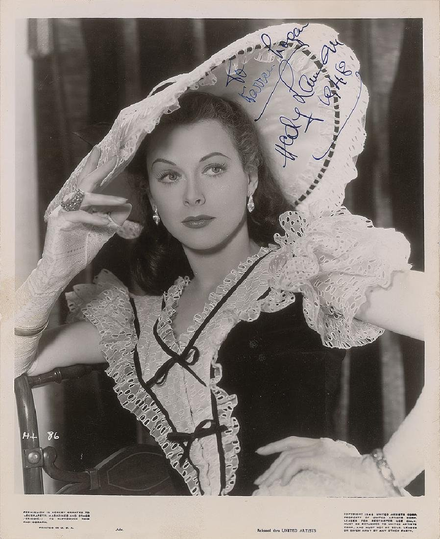 Hedy Lamarr Signed Photograph