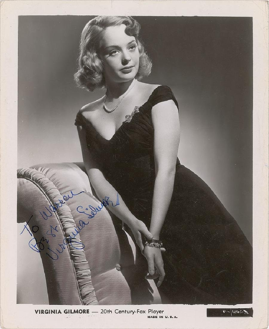 Virginia Gilmore Signed Photograph