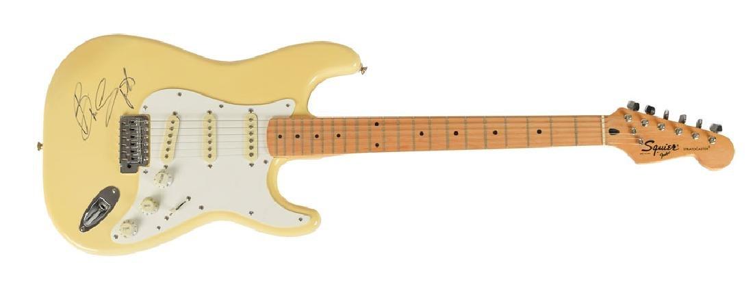 Bruce Springsteen Signed Guitar