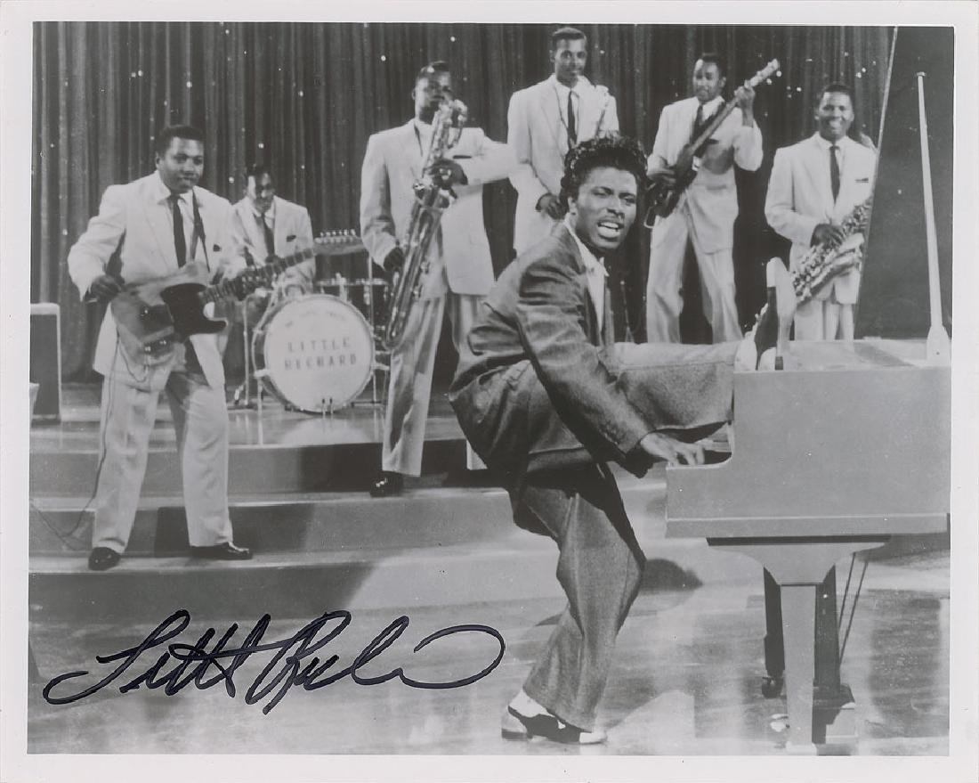 Little Richard Signed Photograph