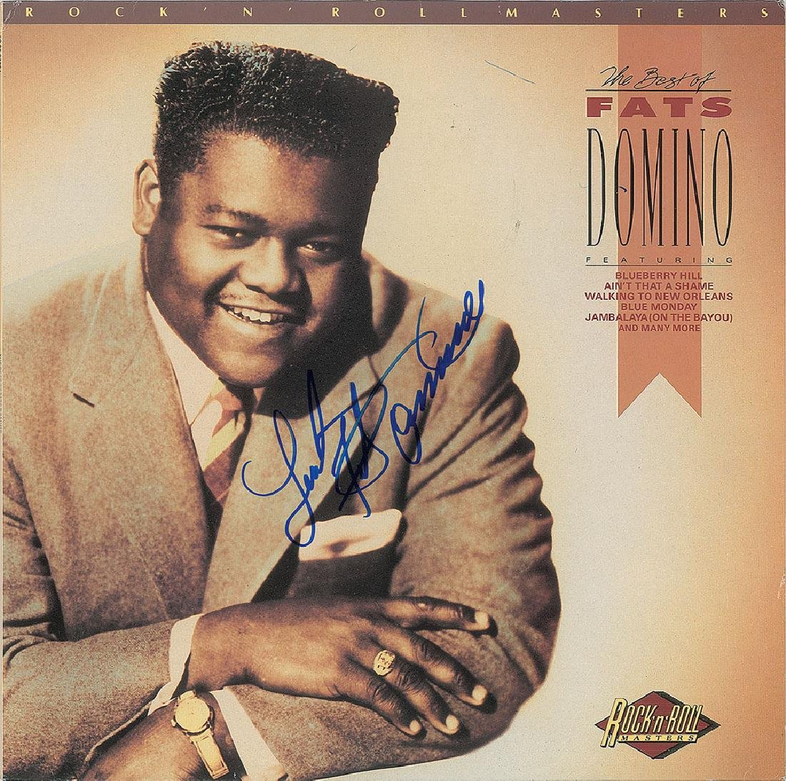 Fats Domino Signed Album