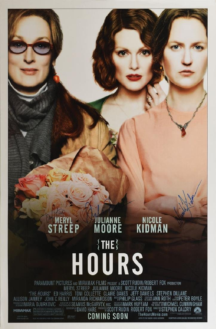 The Hours Signed Poster