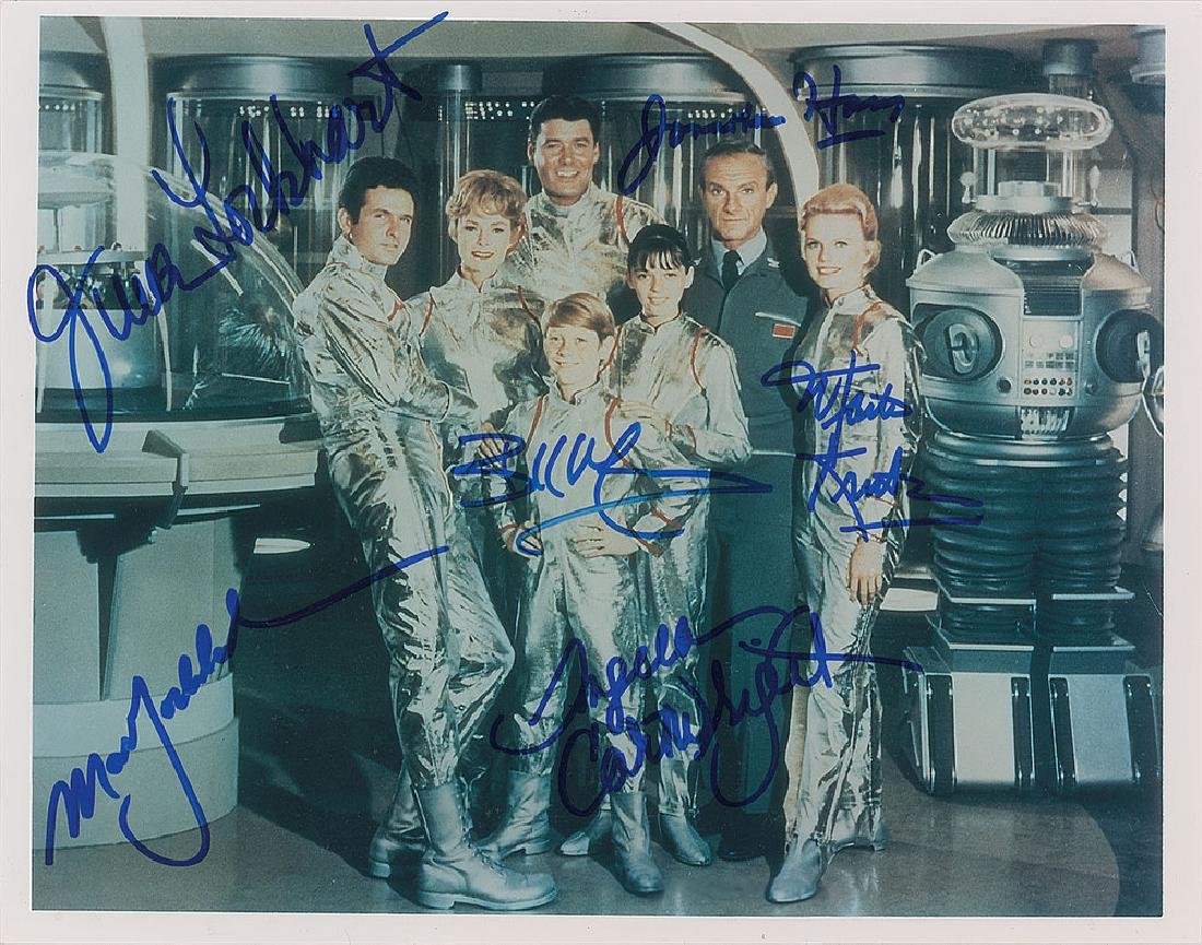 Lost In Space Cast Signed Photograph