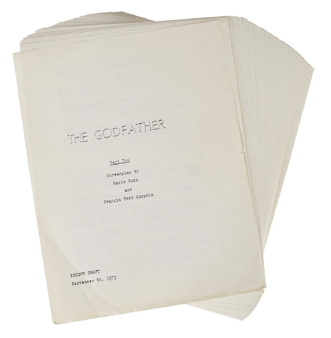 The Godfather Part II Script