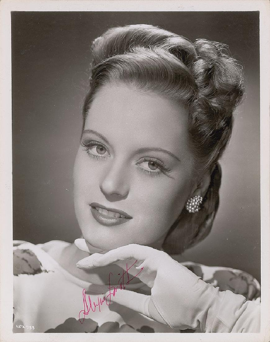 Alexis Smith Signed Photograph