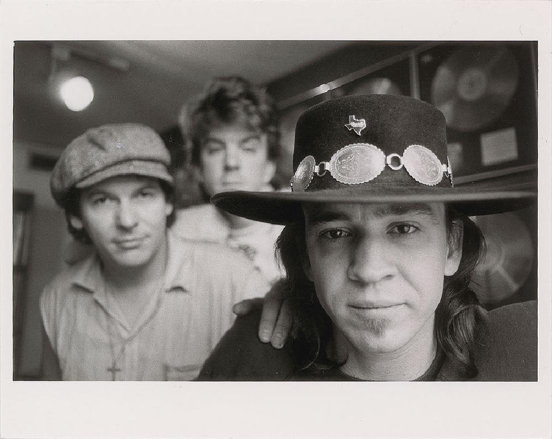 Stevie Ray Vaughan Photograph
