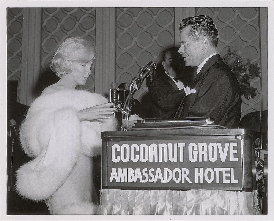Marilyn Monroe and Glenn Ford Original Photograph