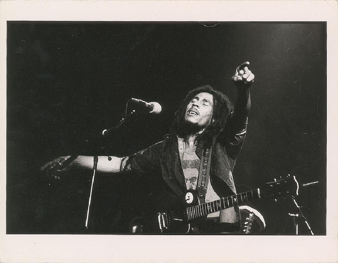 Bob Marley Oversized Photograph
