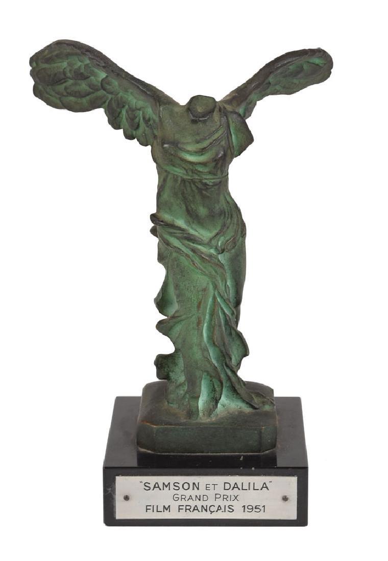 "Cecil B. DeMille's Film Francais ""Grand Prix"" Award for Samson and Delilah"