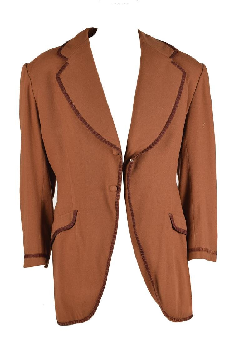 Richard Dix Screen-Worn Coat from The Conquerors