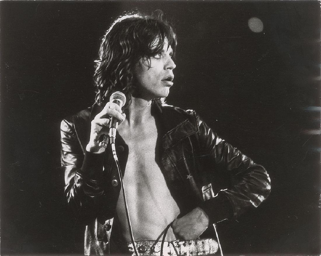 Mick Jagger Original Photograph by Michael Brennan