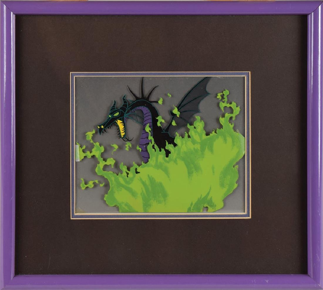 Maleficent production cel from Sleeping Beauty
